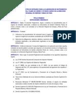 Reglamento Para Registro de Consultores