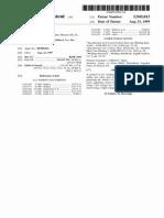 US Patent - 5945013