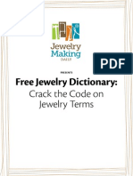 Jewelry Making Dictionary Glossary