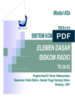 Modul_02a Siskom1_Element Dasar Siskom Radio
