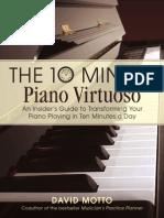 Ten Minute Piano Virtuoso