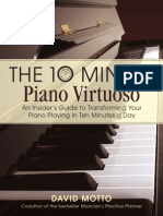 Ten Minute Piano Virtuoso