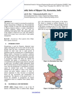 Groundwater Quality Index of Bijapur City, Karnataka, India