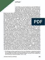 Kritische Theorie und Praxis - Von Hans Jürgen Krahl
