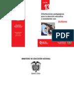 Orientaciones pedagógicas-autismo