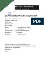 Laporan Ekstraksi DNA