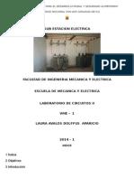 Informe de Laboratorio de Circuitos II - Subestacion Electrica