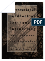 International Handbook of Earthquake Engineering; Codes, Programs, And Examples