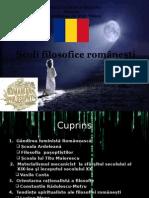 Școlile filosofice românești