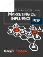 Traackr Content Marketers Guide Influencer Marketing SPANISH