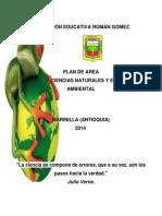 Plan de Área Ciencias Naturales i. e. r.g 2014 (1)