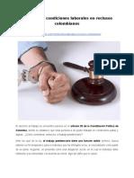 Conozca las condiciones laborales en reclusos colombianos
