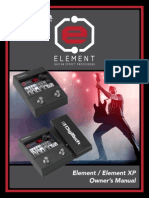 Element (XP) Manual 5037184-A Original