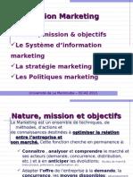 Chapitre 5 La Fonction Marketing