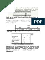 Ejercicios Chi Cuadrado en SPSS