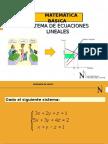 07 Sesión Sistemas de Ecuaciones Lineales CRAMER Y GAUSS