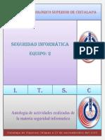 Antologia de actividades realizadas en clases