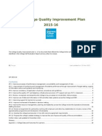 CFE- Quality Improvement Plan QIP Updated 10 Nov 2015