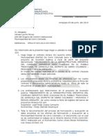 Oficio N°323-2014-OCI-MDCC