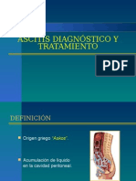 Ascitis Diagnostico y Manejo
