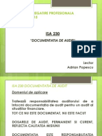 Suport de Curs ISA 230