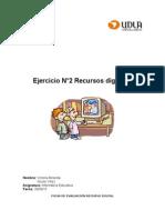 trabajo informatica 2da actividad ficha evaluacion recurso digitales