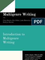 multigenre writing presentation