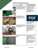 Location Recce & Risk Assessment