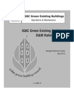 IGBC Green EB O&M Rating System (Pilot Version)