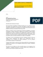 Observaciones Poder Ejecutivo Proyecto Ley 10-15