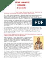 (.) Vietile Sfintilor Ortodoxiei. (01) Sinaxarul lunii Ianuarie.pdf
