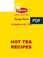 Exclusive Lipton Recipe Book