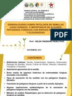 Patología de Semillas Clase ESAT 2015 - Prof. Helen Pérez Pivat