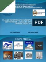 Plan de MPLAN DE MEJORAMIENTO DE TIEMPOS EN EL PROCESO COSTURAejoramiento de Tiempos en El Proceso Costura