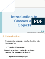 COEN 244 - 3 - Introduction to Classes and Object