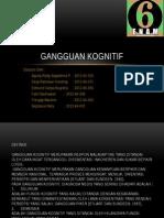 2013 Gangguan kognitif