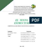 El Texto y Su Estructura Informe