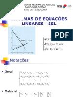 05 - Sistemas de Equações Lineares