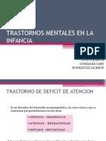 Trastornos Mentales en La Infancia