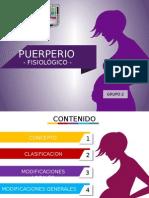 Puerperio Normal - PPT