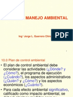 8. Plan de Manejo Ambiental