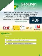 08 Aproximacion Al Rendimiento Medio Estacional Geoener 2012