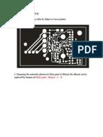 The Process of DIY PCB