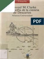 La filosofía de la ciencia de Descartes