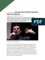 O Brasil Tem Um Novo Herói_ Um Juiz Anti-corrupção - PÚBLICO