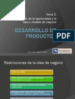 Desarrollo de Productos_3_Identificación de La Oportunidad y La Idea y Modelo de Negocio