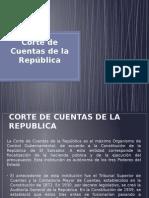 Corte de Cuentas de La República...