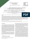 Alkaline consumption mechanisms by crude oil
