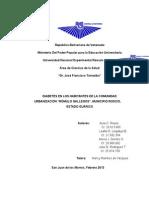 DIABETES (Trabajo de Investigacion de Metodologia) (Terminado)
