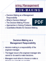 Decision-Making as a Management Responsibility